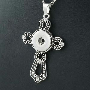 Jewelry - Women's necklace change color cross snap jewelry